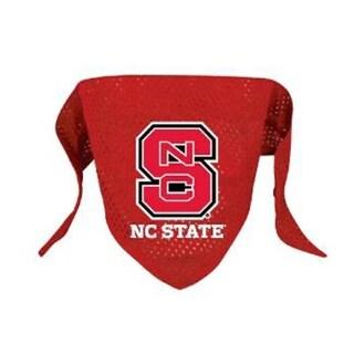 NCAA North Carolina State Sports Team Logo Mesh Dog Bandana - Small