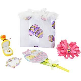 Dimple KTEAS994311 Easter Girls Gift Set Includes Easter Purse, Charm Bracelet, 2 Bows, Duck Pendant & Easter Notepad Pen Set