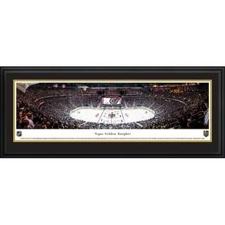 Blakeway Panoramas Vegas Golden Knights Inaugural Game Framed Print
