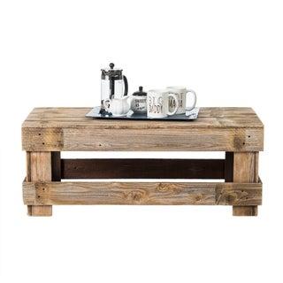 Del Hutson Designs Barnwood Coffee Table (Option: Natural)