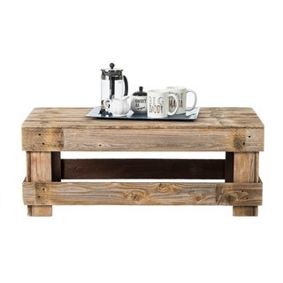 Del Hutson Designs Barnwood Coffee Table (3 options available)