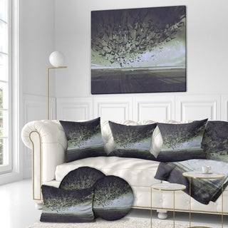 Designart 'Attack of Crows' Digital Art on wrapped Canvas