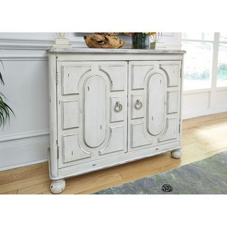 Link to Bella Antique White 2-door Accent Cabinet Similar Items in Living Room Furniture