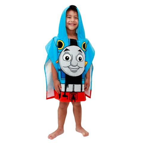 Mattel Thomas The Tank Engine Cotton Beach/Bath Hooded Poncho