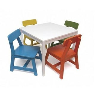 Lipper Child Table Chair Set 5pc Wh per EA