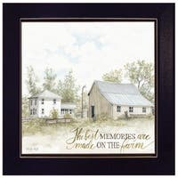 """The Best Memories"" by Cindy Jacobs, Ready to Hang Framed Print, Black Frame"