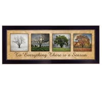 """There is a Season"" by Lori Deiter, Ready to Hang Framed Print, Black Frame"