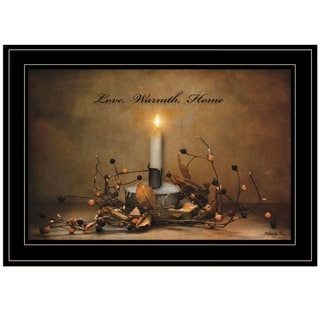 """Link to """"Love, Warmth, Home"""" by Robin-Lee Vieira, Ready to Hang Framed Print, Black Frame Similar Items in Art Prints"""
