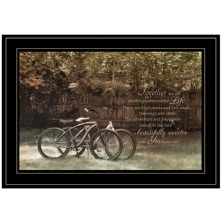 """""""Journey Together"""" by Robin-Lee Vieira, Ready to Hang Framed Print, Black Frame"""