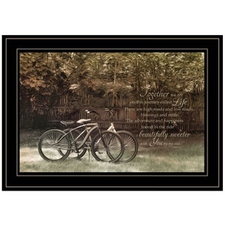 """Journey Together"" by Robin-Lee Vieira, Ready to Hang Framed Print, Black Frame"