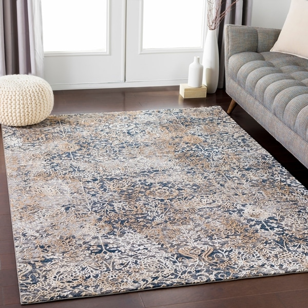 "High Glam Traditional Area Rug (6'8"" x 9'6"") - 6'8"" x 9'6"""