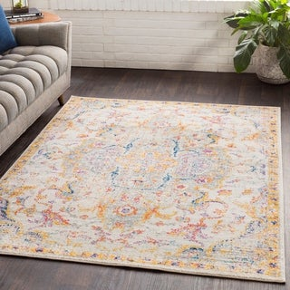 "Ani Vintage Traditional Gray Area Rug - 5'3"" x 7'6"""