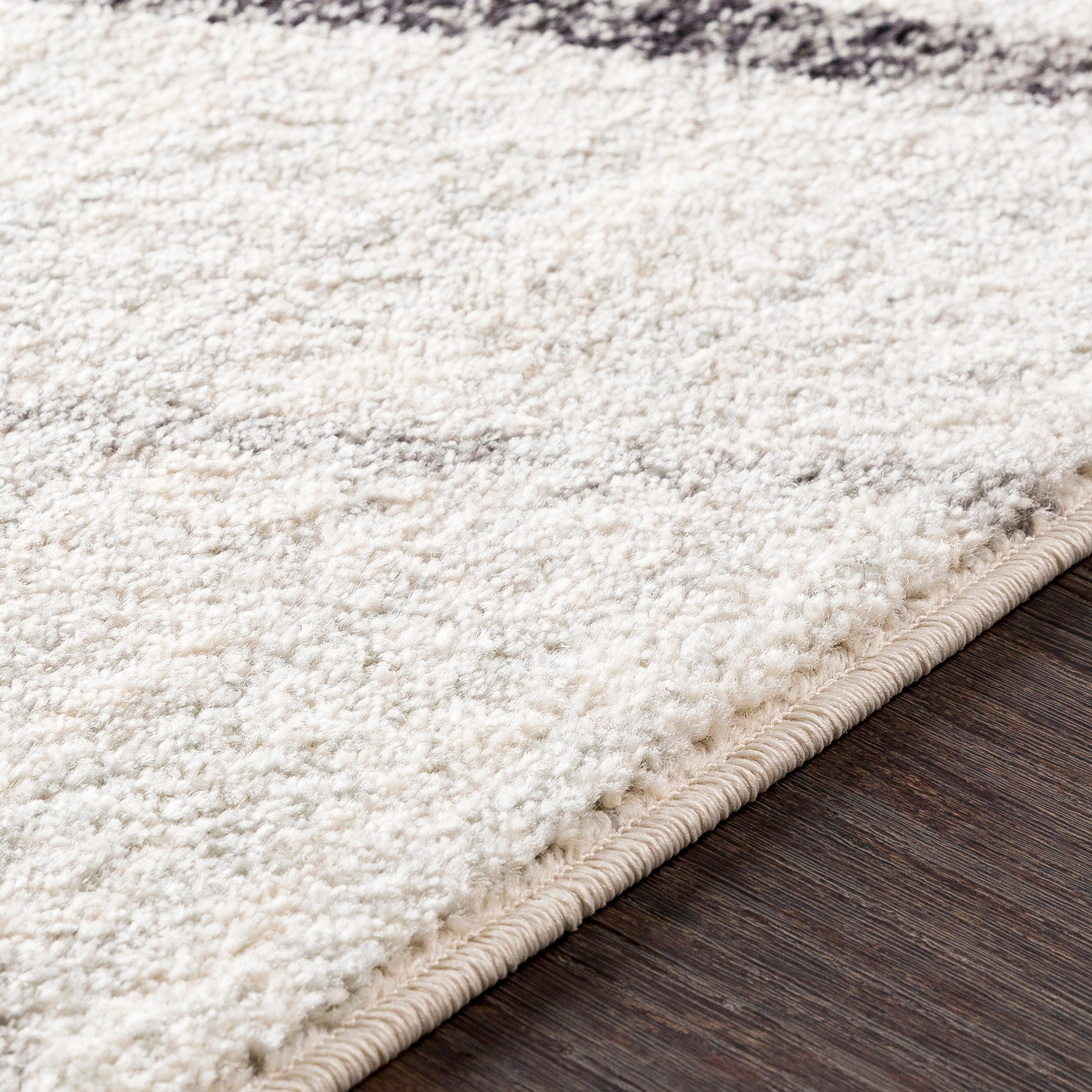 Mellie Gray Contemporary Lines Area Rug 5 3 X 7 6 Overstock 21278244