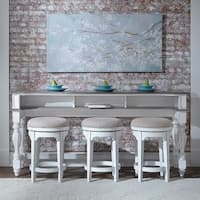 Magnolia Manor Antique White Table 4-piece Console Set