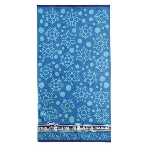 Disney Frozen Olaf Cotton Beach/Bath Towel
