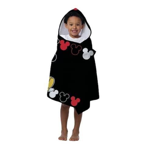 Disney Mickey Mouse Cotton Beach/Bath Hooded Towel