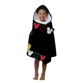 Disney Mickey Mouse Cotton Beach/Bath Hooded Towel