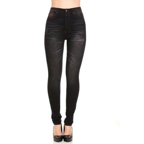 167 Ladies Skinny Red Jeans