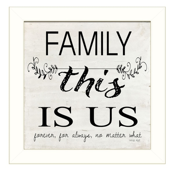 Shop Family This Is Us By Cindy Jacobs Ready To Hang Framed