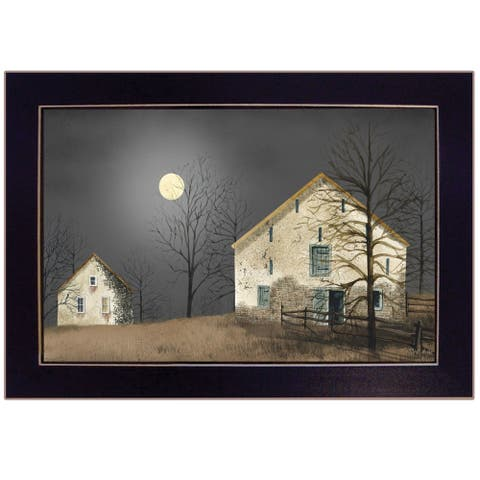 """""""Still of the Night"""" by Billy Jacobs, Ready to Hang Framed Print, Black Frame"""
