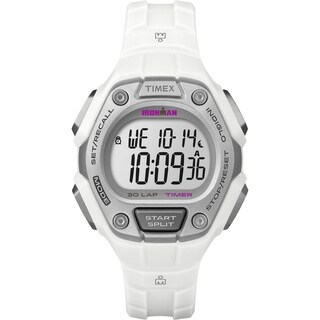 Timex Women's Ironman 30-Lap Digital Quartz Mid-Size Sports Watch
