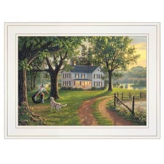 """""""Coming Home"""" by Kim Norlien, Ready to Hang Framed Print, White Frame"""