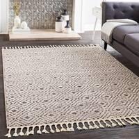 "Lyla Gray Moroccan Tile Tassel Area Rug - 7'10"" x 10'"