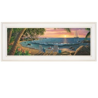"""""""Summer Breeze"""" by Kim Norlien, Ready to Hang Framed Print, White Frame"""