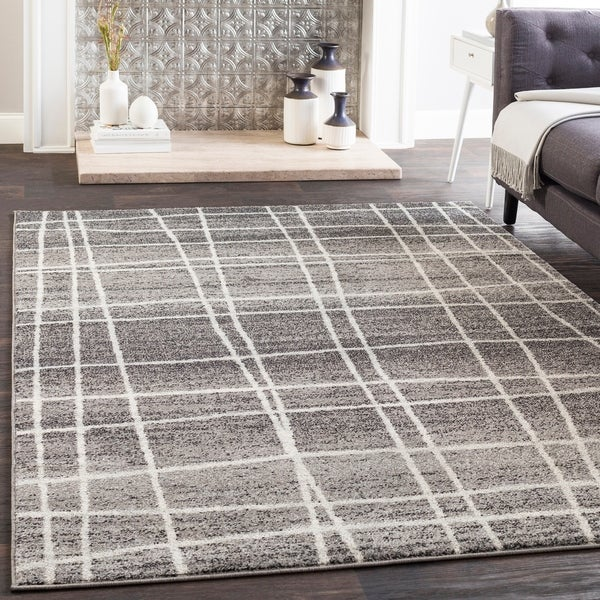 Shop Audrey Gray Mid Century Modern Area Rug 5 3 Quot X 7 6