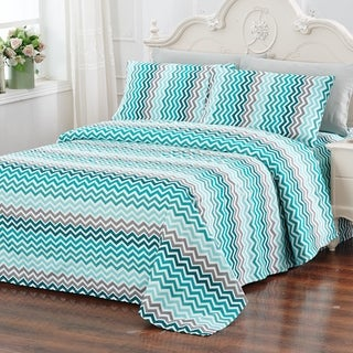 Glory Home Designs Printed Bed Sheet Set - 6 Piece