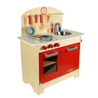 Wood Kitchen Set