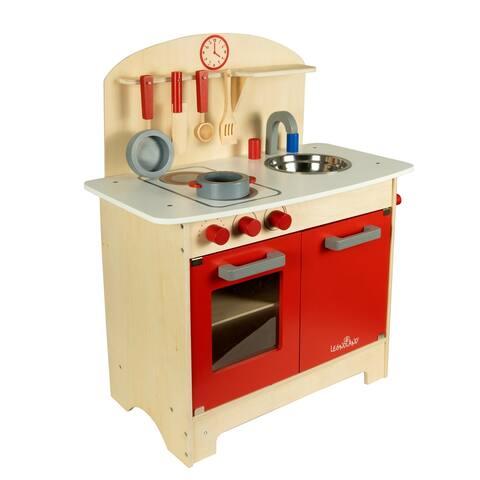Wood Kitchen Set