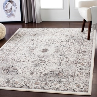 "Lena Warm Gray Traditional Area Rug - 5'3"" x 7'3"""
