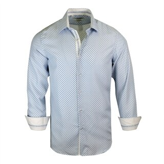 Monza Printed Modern-Fit Dress Shirt (More options available)