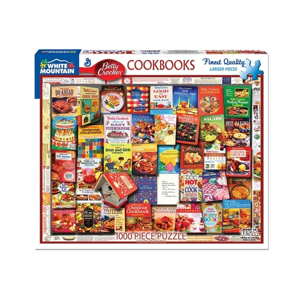 1000 Piece Jigsaw Puzzle White Mountain Puzzles Betty Crocker
