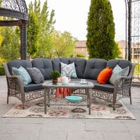 3-piece Outdoor Sectional and Coffee Table