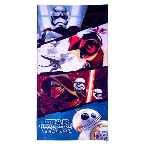 Star Wars Ep7 Battle Front Cotton Beach/Bath Towel