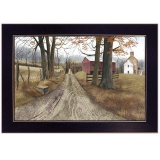"""Link to """"The Road Home"""" by Billy Jacobs, Ready to Hang Framed Print, Black Frame Similar Items in Art Prints"""
