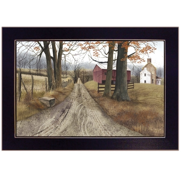 """""""The Road Home"""" by Billy Jacobs, Ready to Hang Framed Print, Black Frame. Opens flyout."""