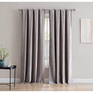 Isla Corduroy 84-inch Window Curtain with Rod Pocket - Single Panel, Inspired Surroundings by 1888 Mills