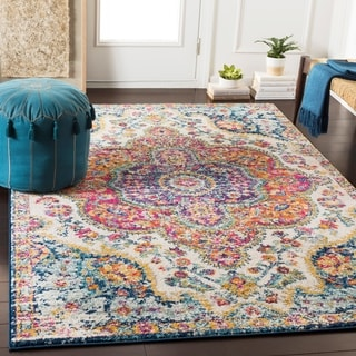 Deals on Porch & Den Highpoint Vintage Boho Area Rug 5.3ft x 7.6ft