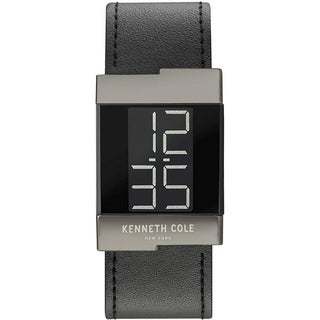 Kenneth Cole New York Women's Uhr Leather Digital Watch