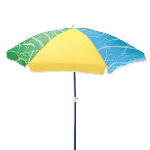 Step2 Seaside Umbrella - Blue Green Yellow