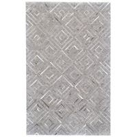 Grand Bazaar Canady Bisque/ Storm Wool Rug - 8' x 11'