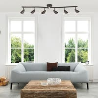 Grayson 6-Light Oil Rubbed Bronze Track Lighting, Bulbs included