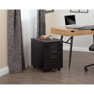 SD Office Metal Rolling File Cabinet with Locking Drawers