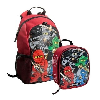 LEGO NINJAGO Team Heritage Basic Backpack & Lunch