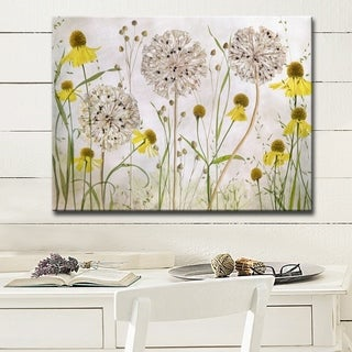 Link to Alliums and Heleniums' Floral Wrapped Canvas Wall Art Similar Items in Art Prints