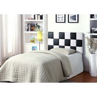 Best Master Furniture Checkered Panel Head Board