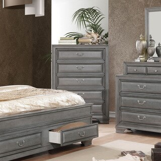 Furniture of America Oslo Traditional 5-drawer Chest